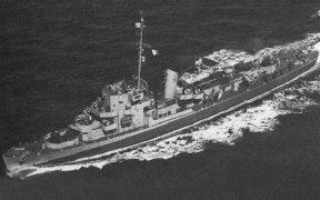 USS Eldridge.