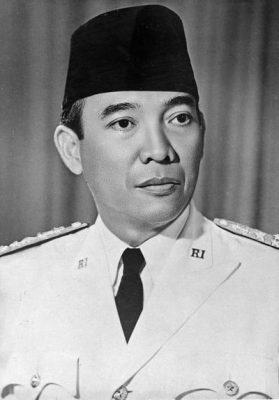 Presiden Sukarno.