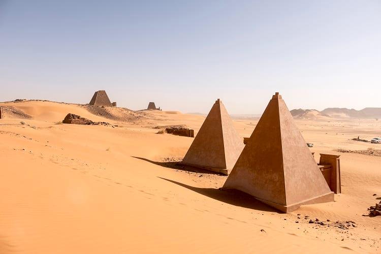 Pyramids of Sudan