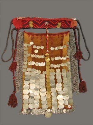 Face veil worn by Bedouin women.