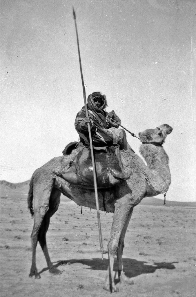 A Bedouin spearman.