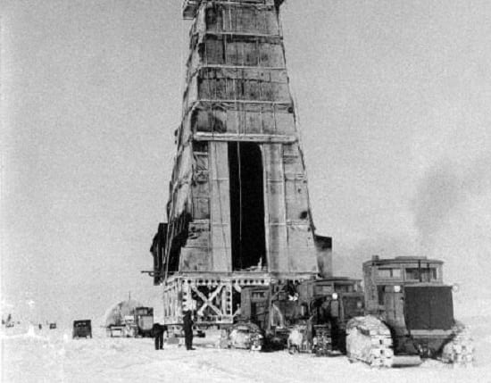 Discovery of oil at Prudhoe Bay.