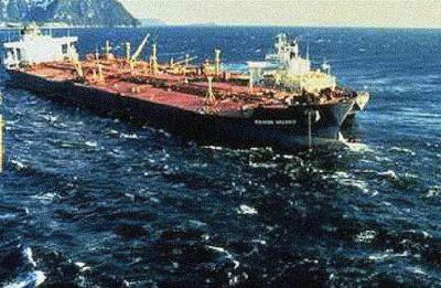 Exxon Valdez oil spill.
