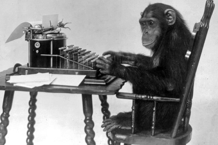 Infinite monkey theorem.