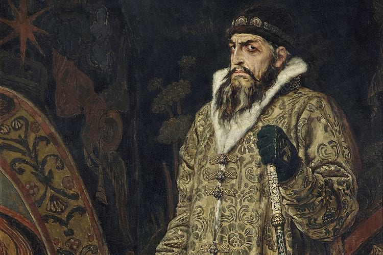 Painting of Ivan the Terrible.