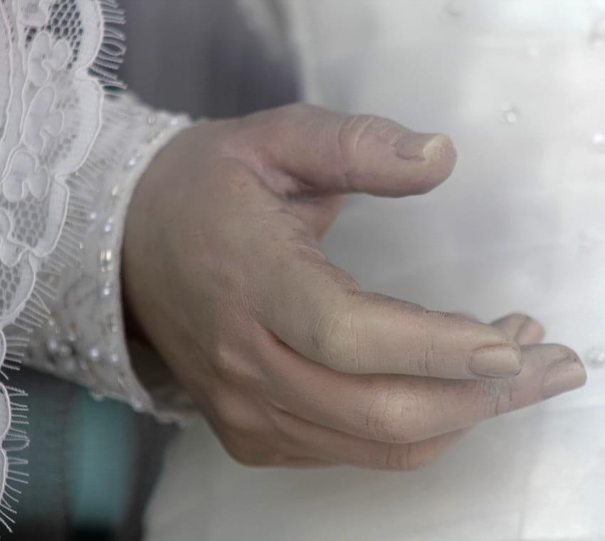 La Pascualita's hand.