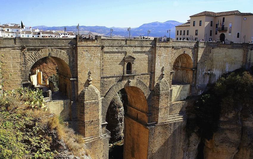 A view of Puente Nuevo.
