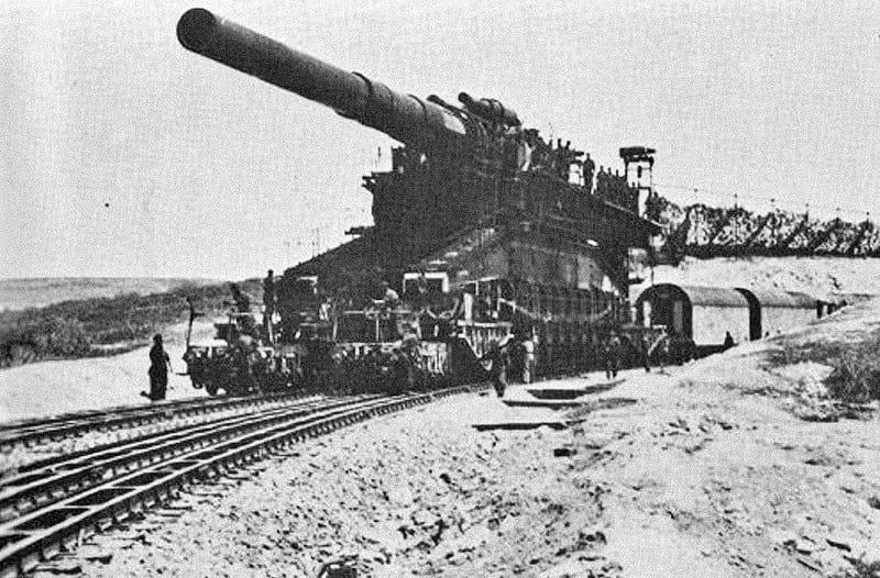 The Schwerer Gustav in Soviet Union, 1941.