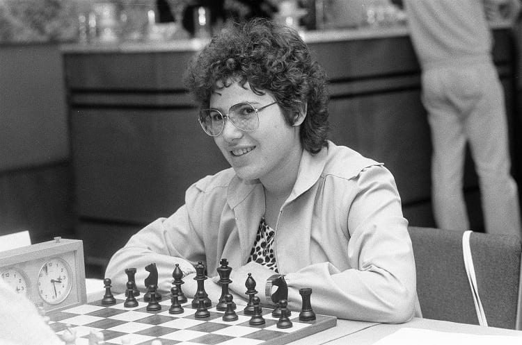 16 years old Susan Polgar.