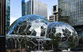 The exterior of the Amazon spheres