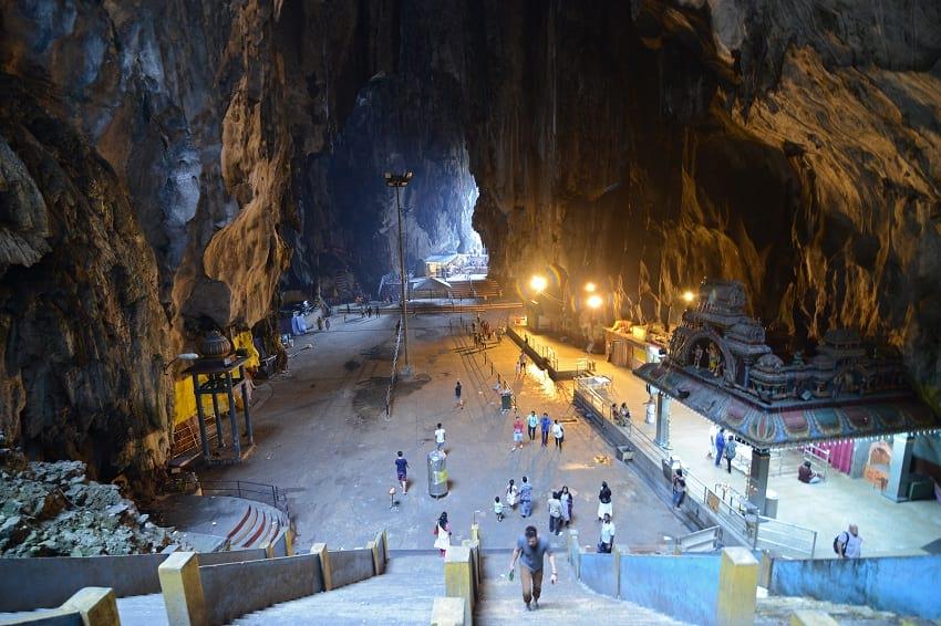 Entrance of Batu Cave.