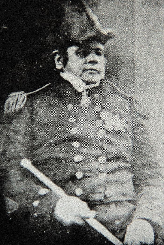 Photo of Sir John Franklin.