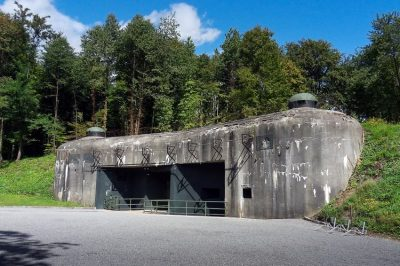 Maginot line in Alsace region, France.