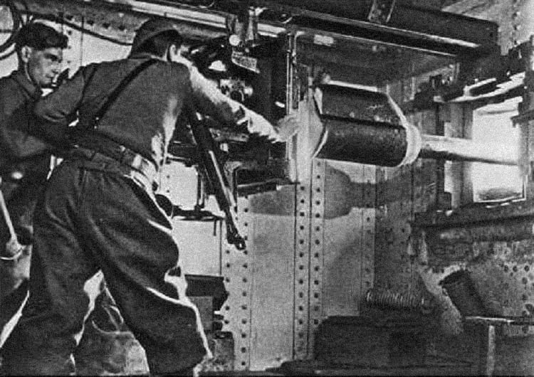 Weapons in Maginot Line.