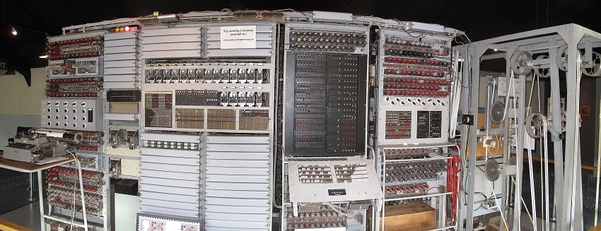 Reconstructed version of colossus computer.