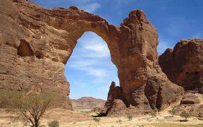 Aloba Arch, Chad.