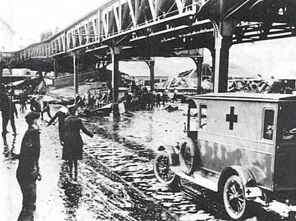 Boston Molasses Flood rescue.
