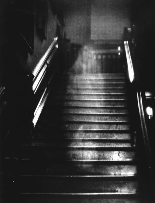 Photo of Brown Lady of Raynham Hall.