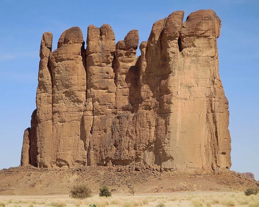 Sandstone pinnacles