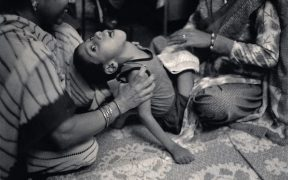 Survivors of Bhopal gas tragedy