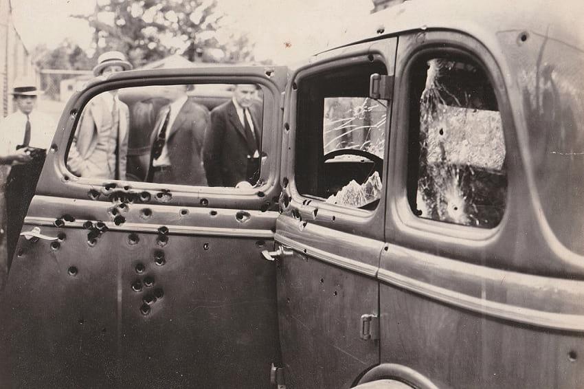 Bonnie and Clyde car