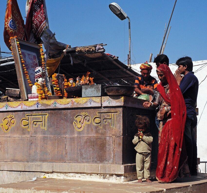 Om Banna shrine.