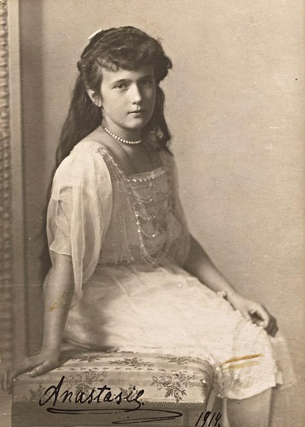 Photo of Princess Anastasia Nikolaevna