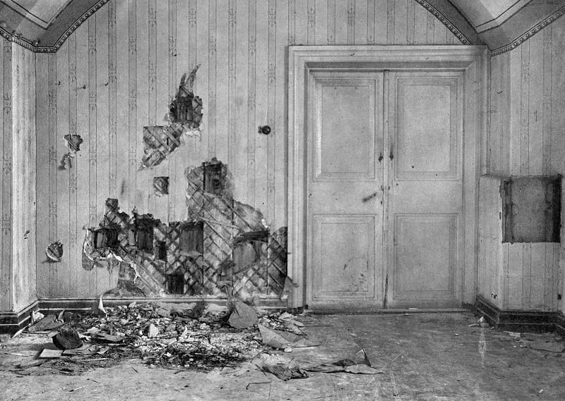 Basement of the Ipatiev house