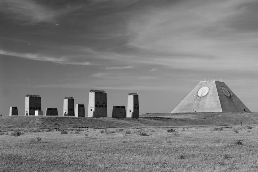 The Pyramid of North Dakota.