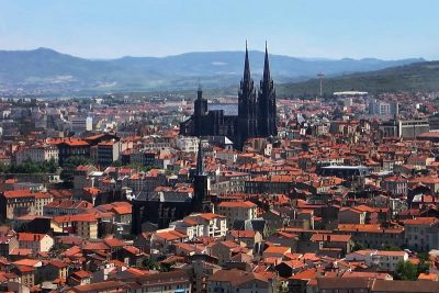 Clermont-Ferrand Cathedral.