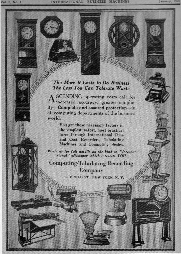 IBM 1920's sale catalogue