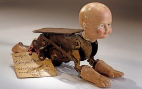 Creeping Baby Doll Patent Model