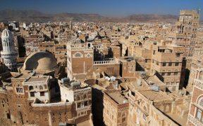 Sana'a, Yemen.