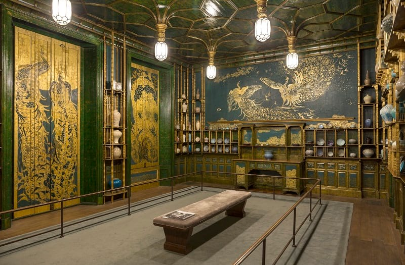 The Peacock Room by Whistler.